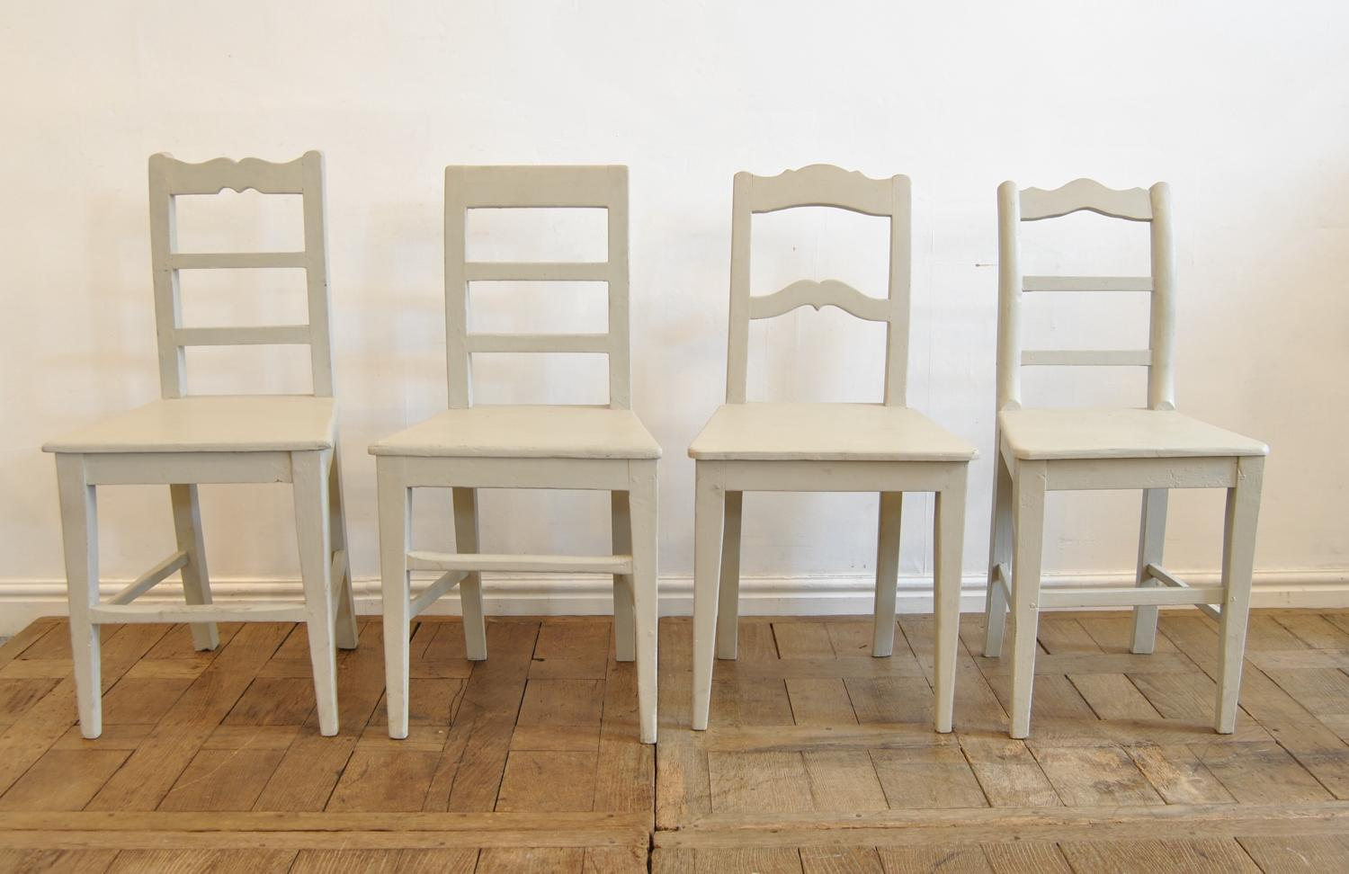 Four Hungarian Country Chairs