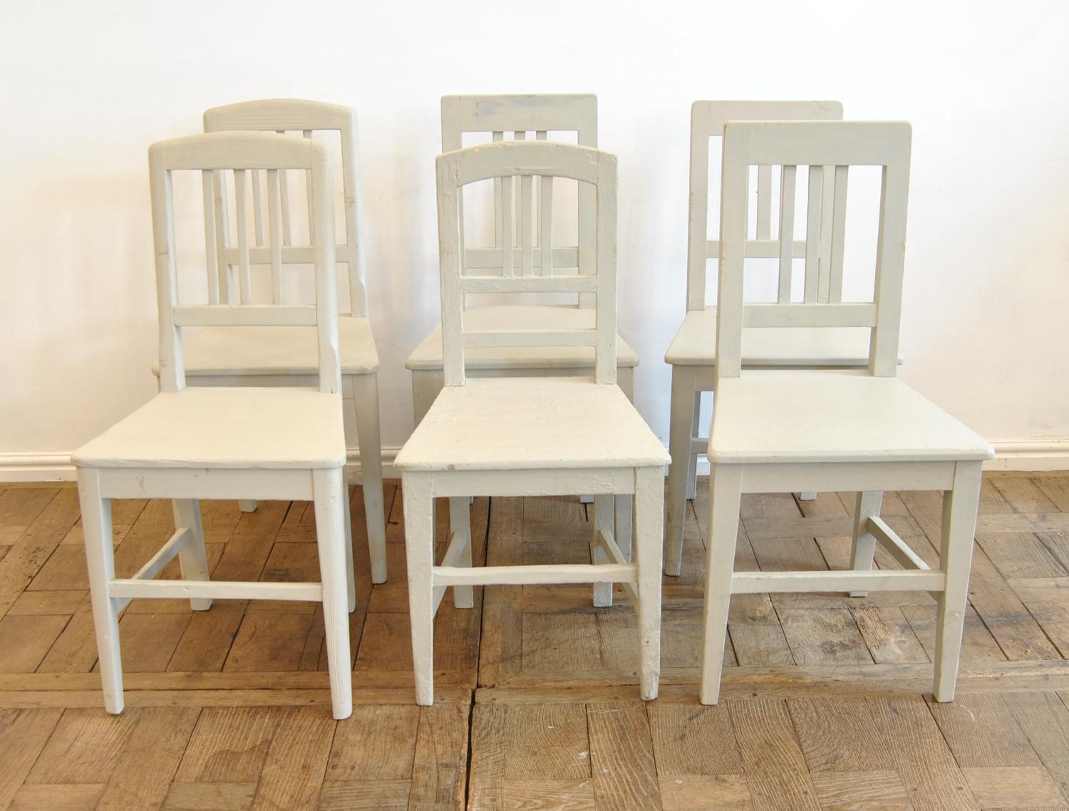 Six Hungarian Country Chairs