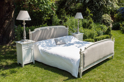 Superking Size French Upholstered Bed