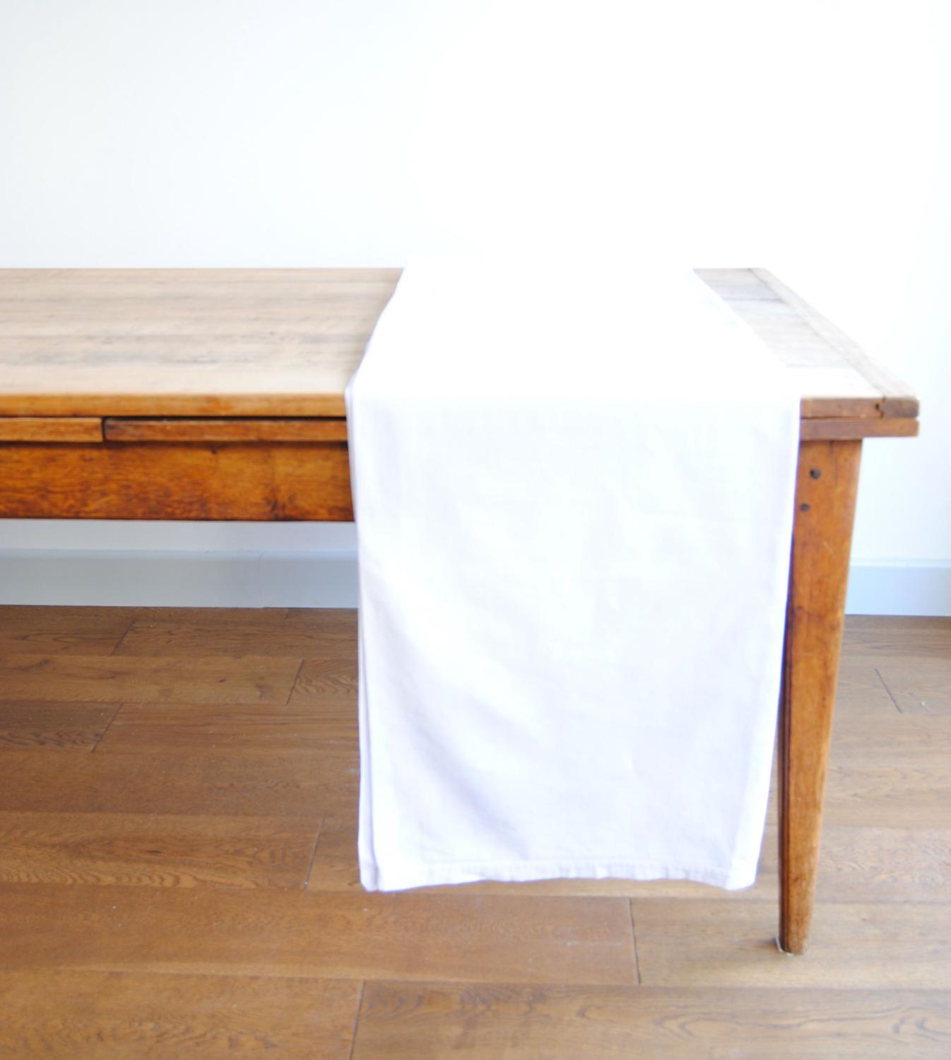 Hand dyed antique French linen sheet