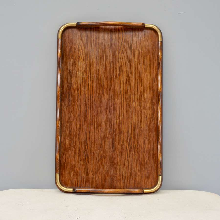 Antique wooden tray