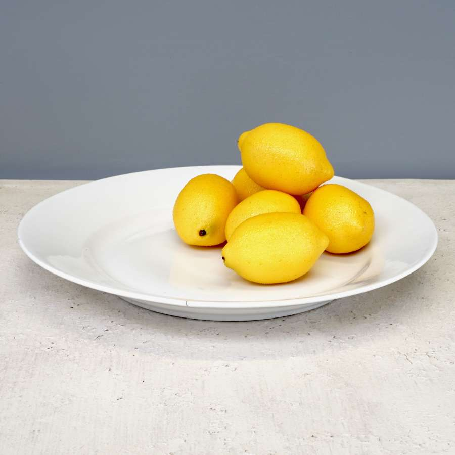 Large French plate