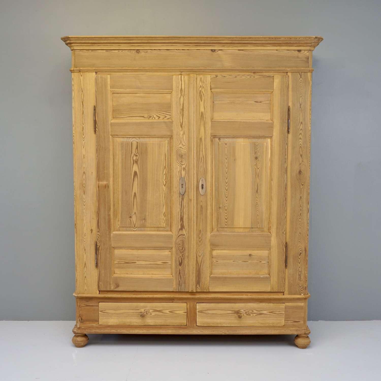 Pine Knock Down Wardrobe/Cupboard