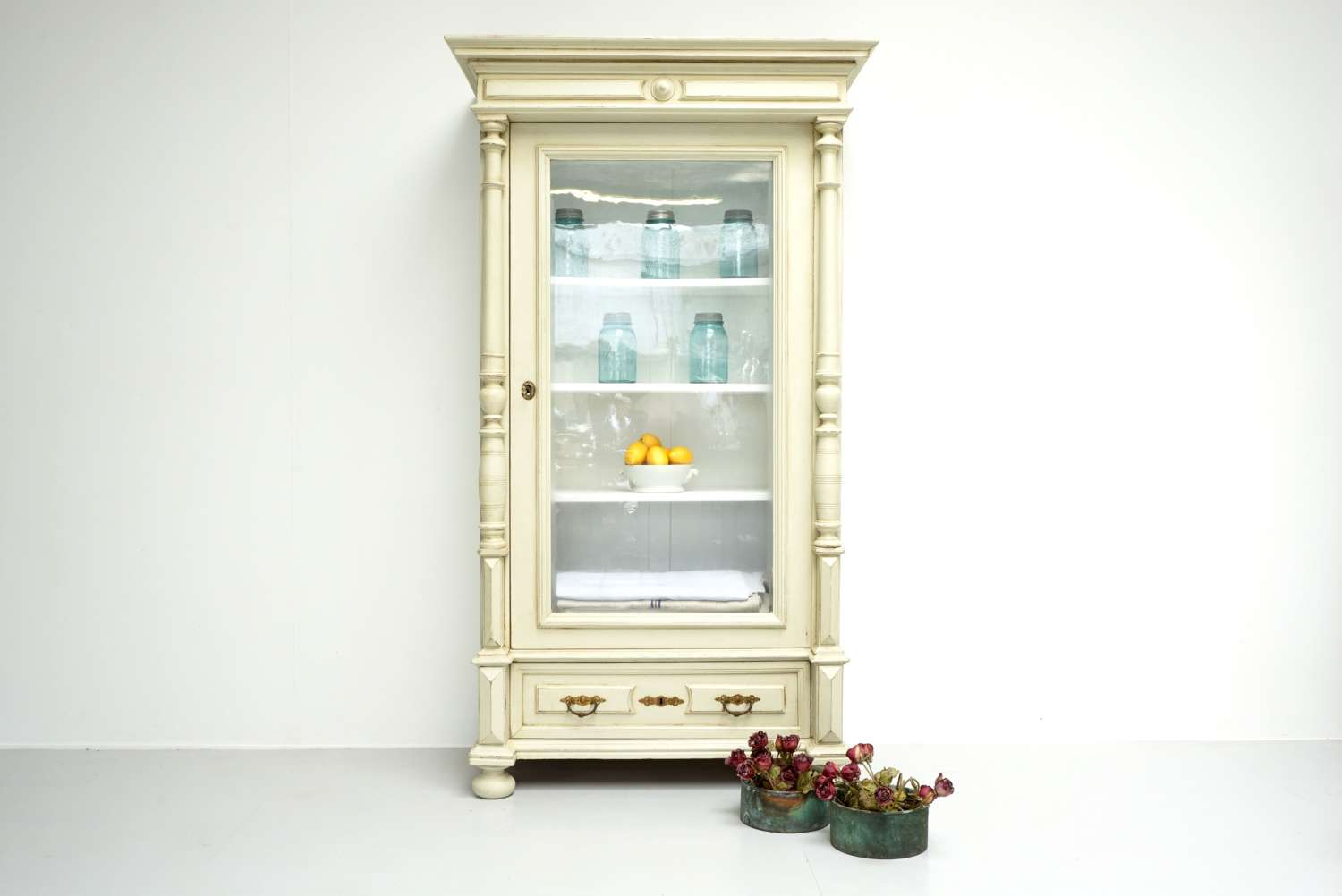Continental Glazed Cabinet
