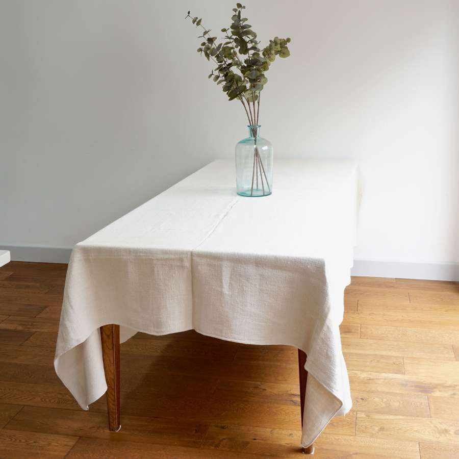 French Antique Linen Sheet