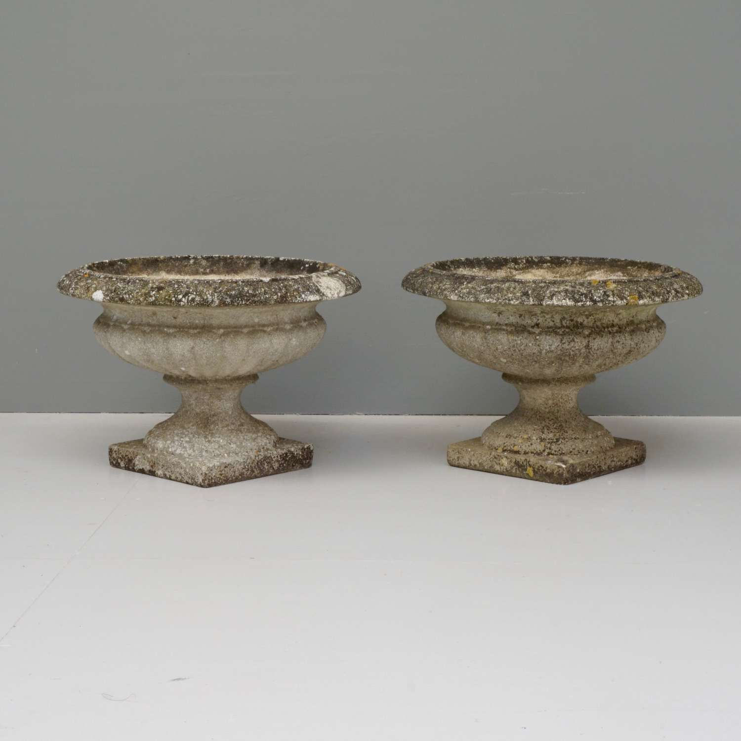 Pair of French Garden Urns