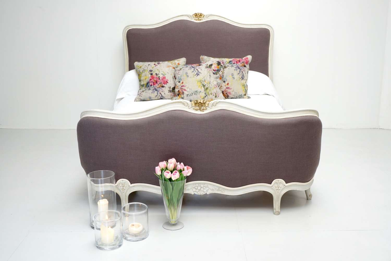 French Demi Corbeille Bed