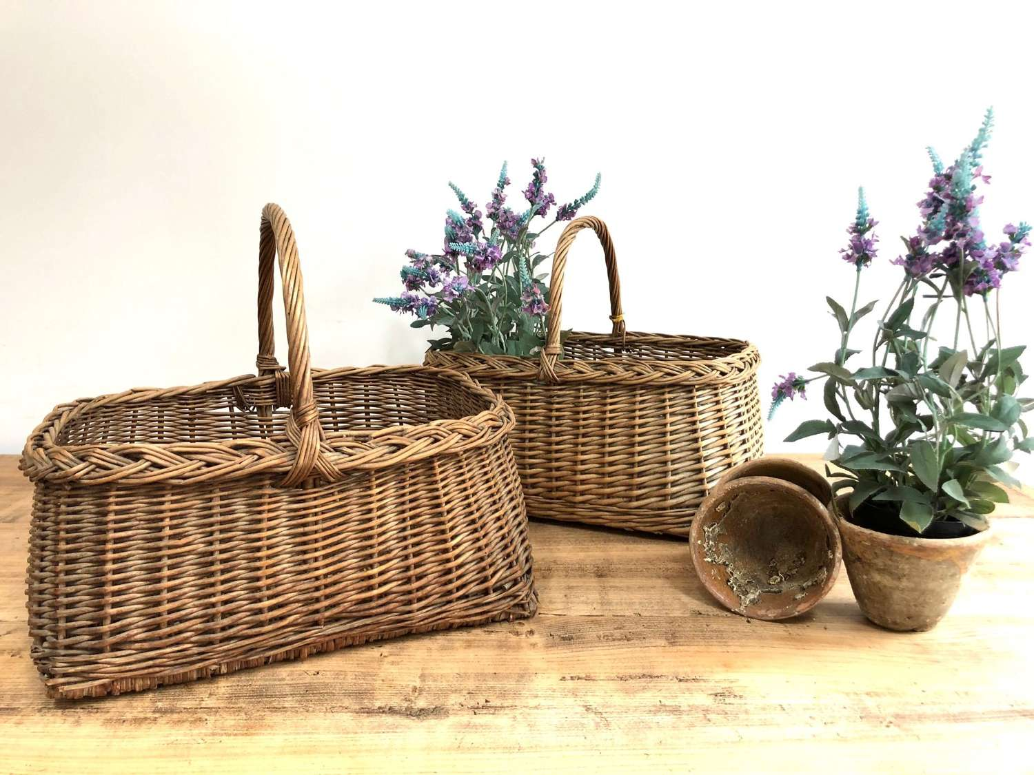 French Wicker Baskets