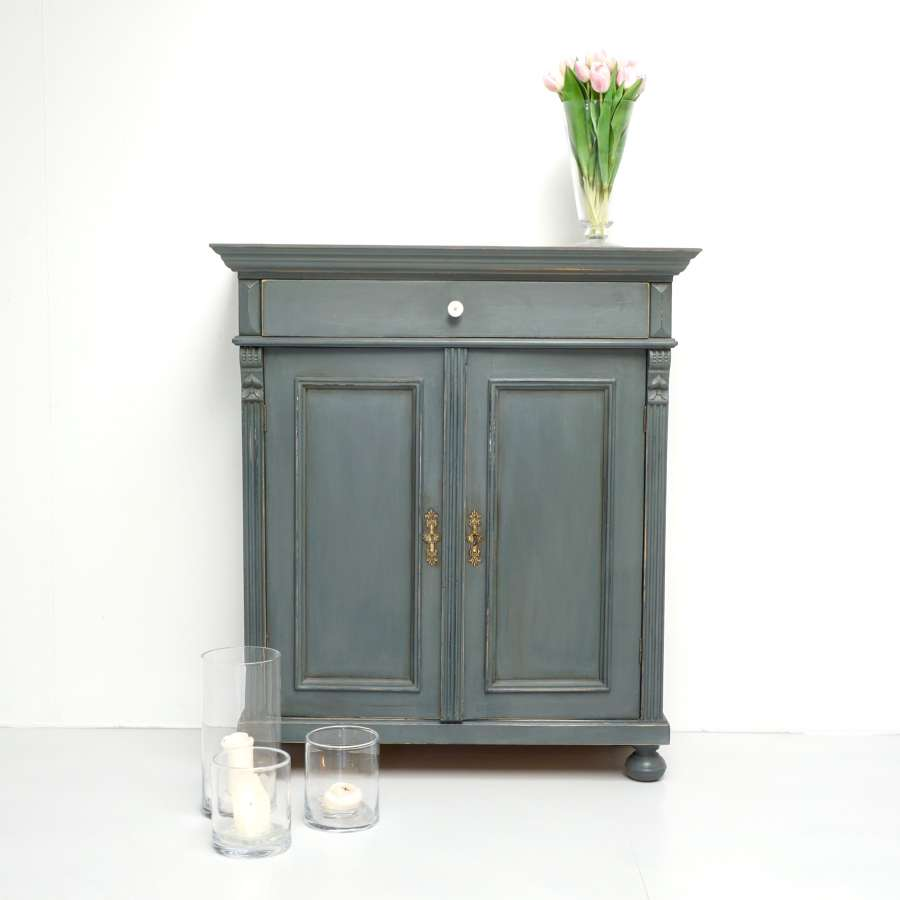 Continental Painted Cupboard