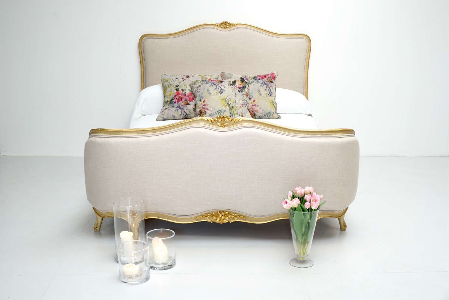 Demi Corbeille French Double Bed