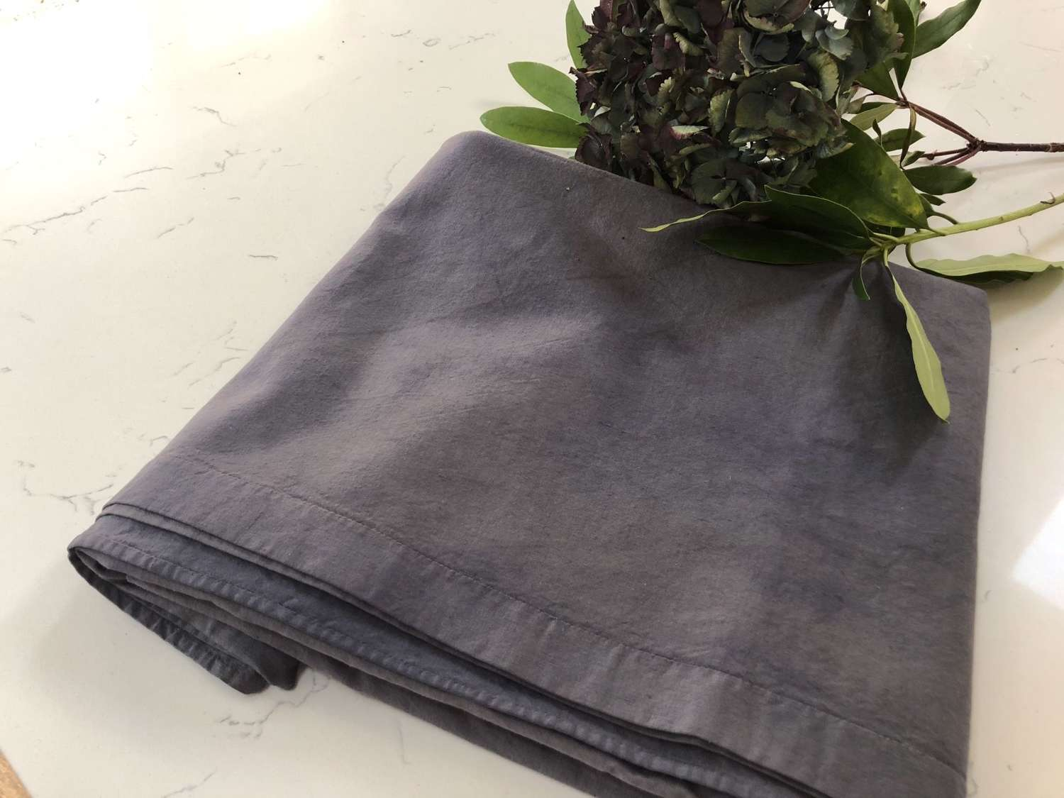 French Linen - Grey