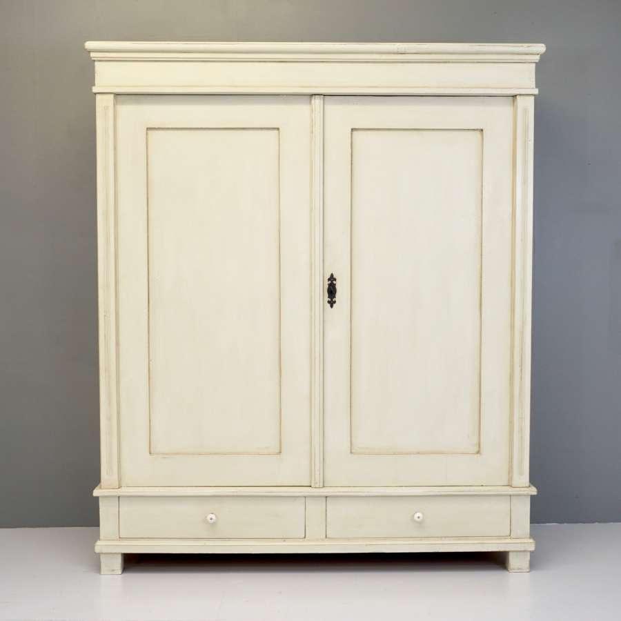 Continental Painted Wardrobe
