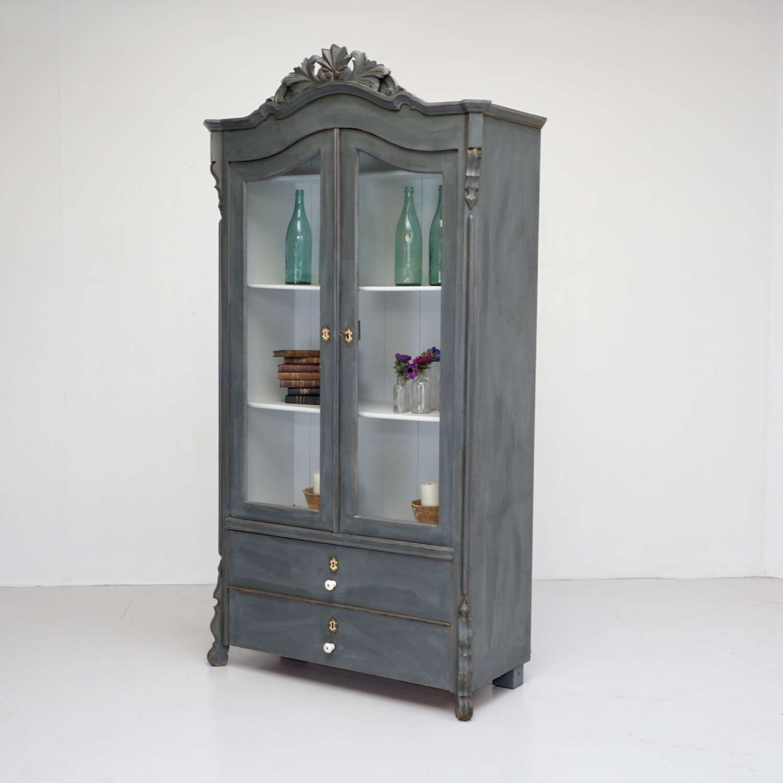 Continental Glazed Cabinet