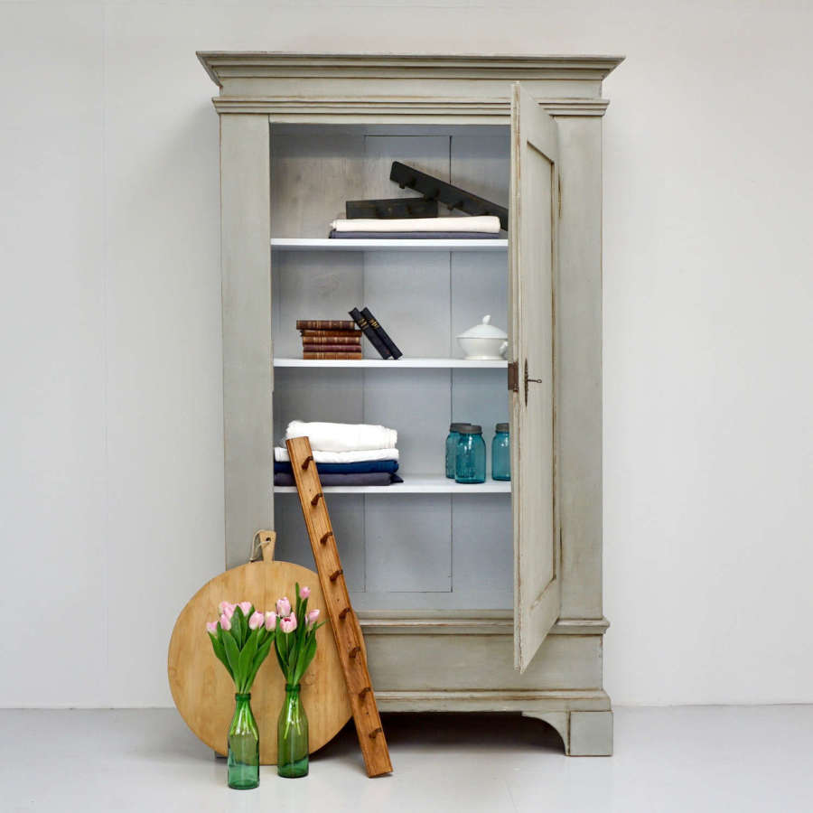 Continental Painted Cupboard/Wardrobe